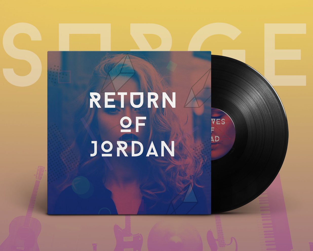 Album-Three-Surge RETURN OF JORDAN